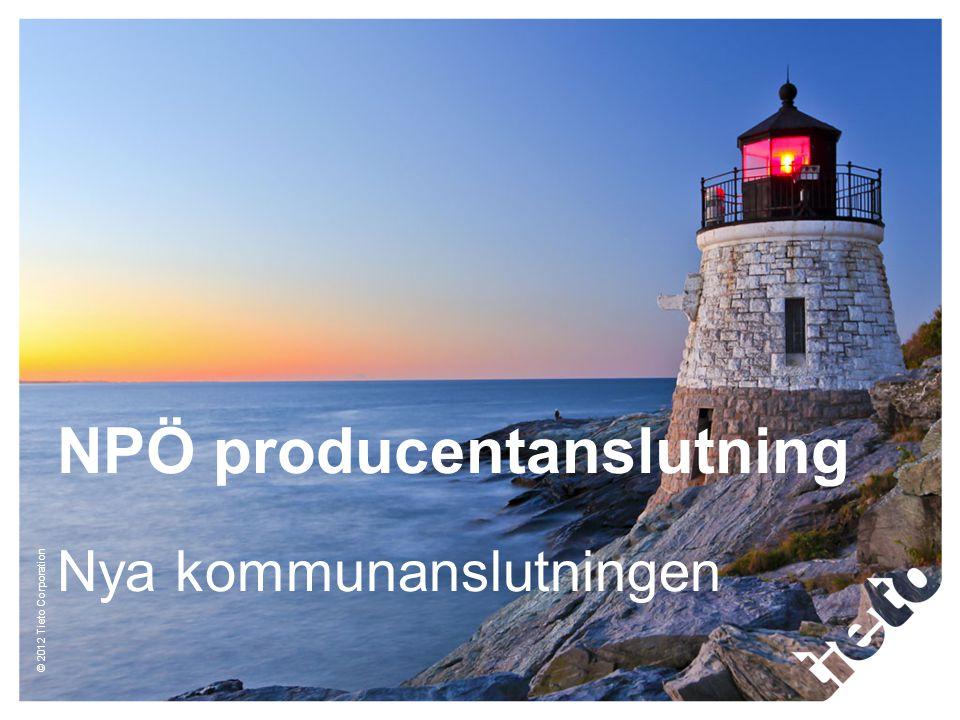 NPÖ producentanslutning Nya kommunanslutningen