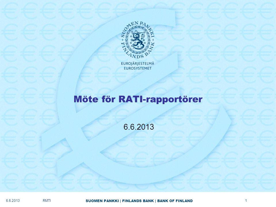 Möte för RATI-rapportörer