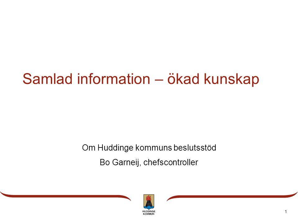 Samlad information – ökad kunskap