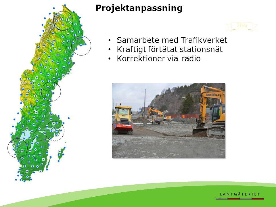 Projektanpassning Samarbete med Trafikverket