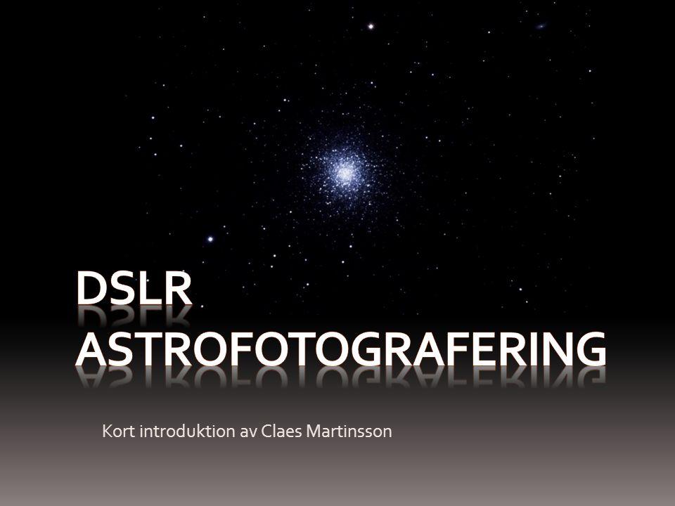 DSLR astrofotografering