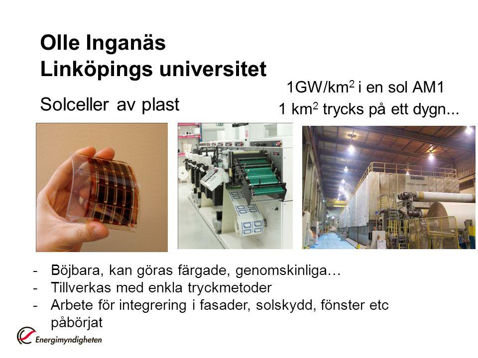 Olle Inganäs Linköpings universitet