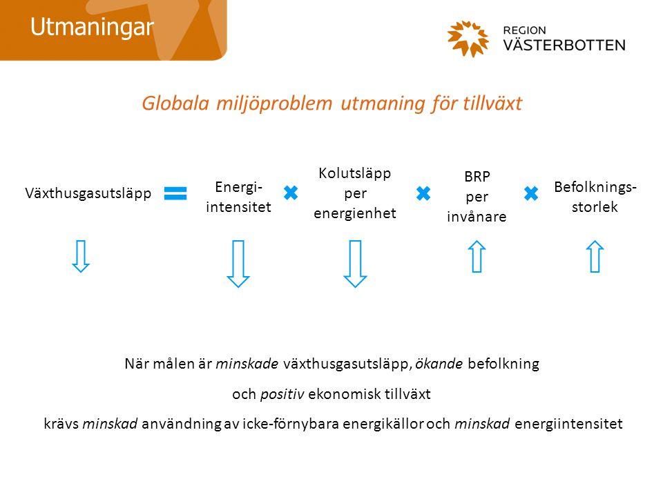 Globala miljöproblem utmaning för tillväxt