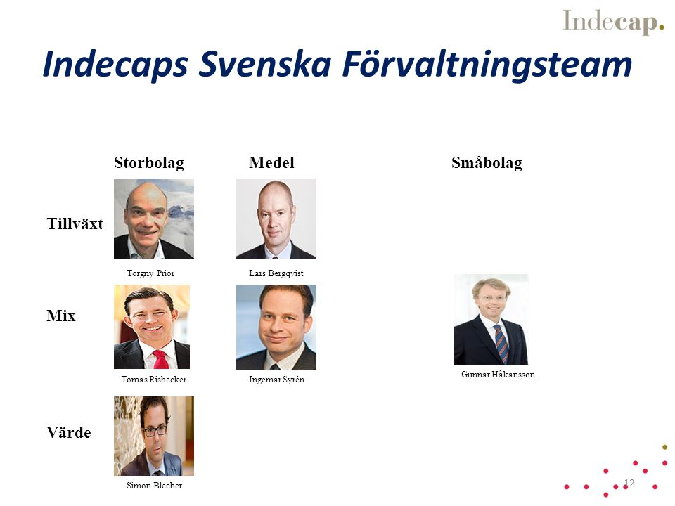 Indecaps Svenska Förvaltningsteam