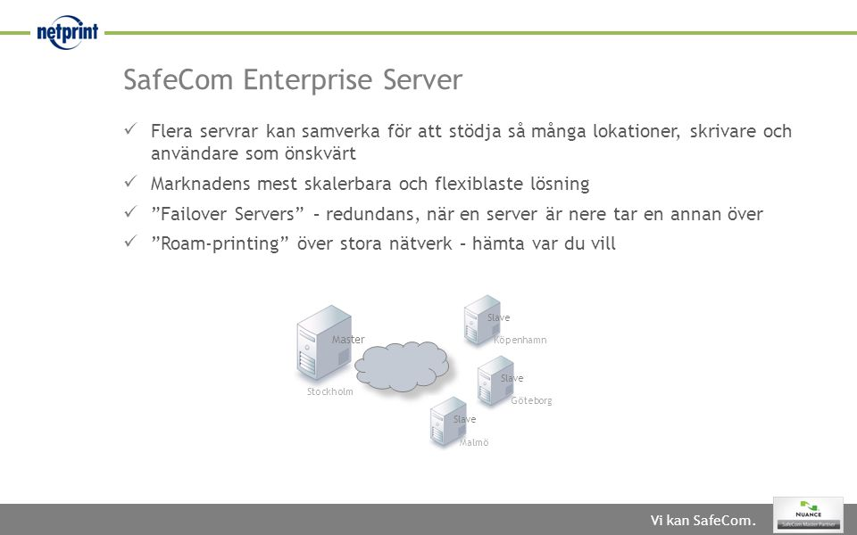 SafeCom Enterprise Server