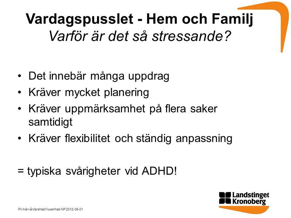 Vardagspusslet - Hem och Familj Varför är det så stressande