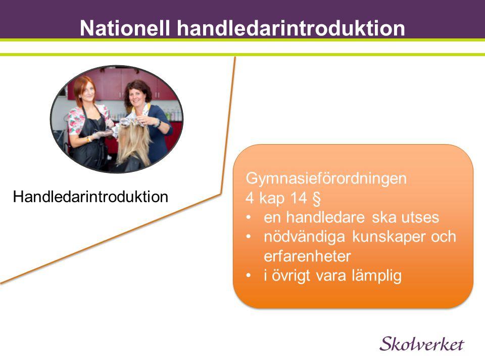 Nationell handledarintroduktion