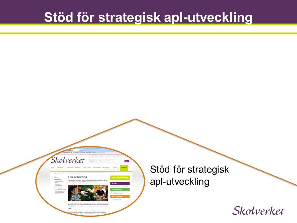 Stöd för strategisk apl-utveckling
