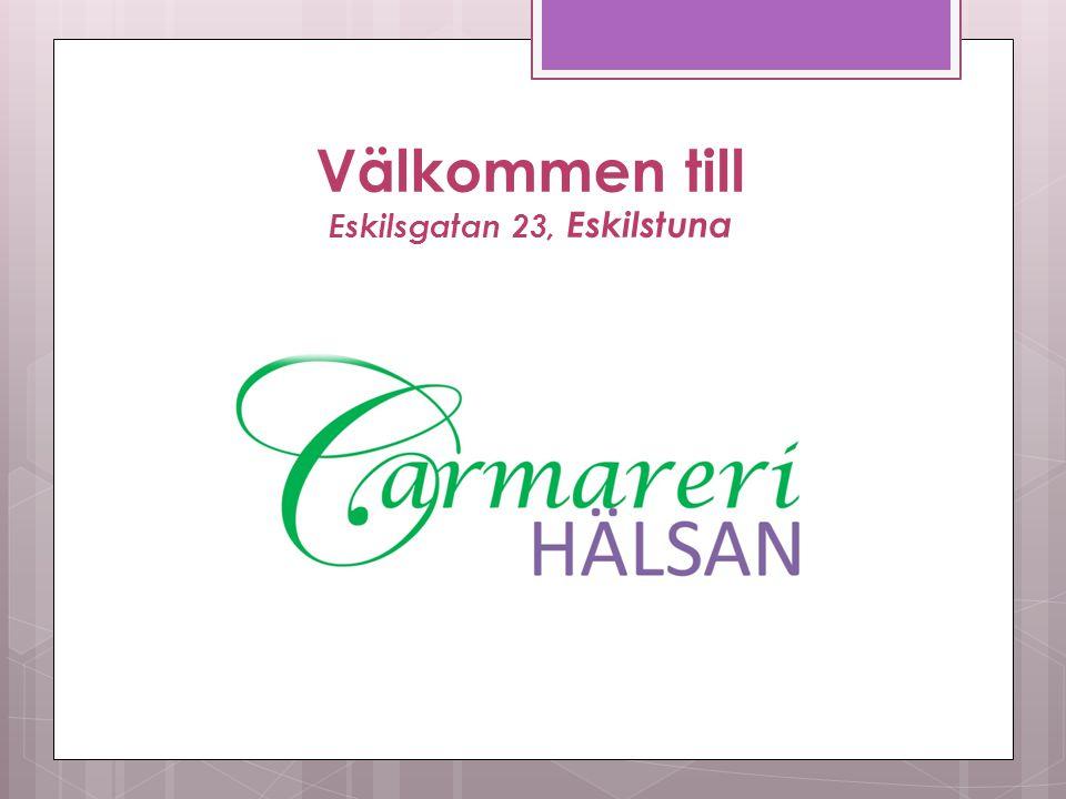 Välkommen till Eskilsgatan 23, Eskilstuna