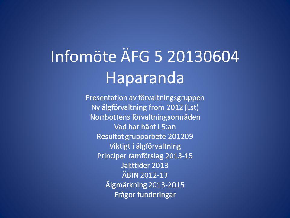 Infomöte ÄFG 5 20130604 Haparanda