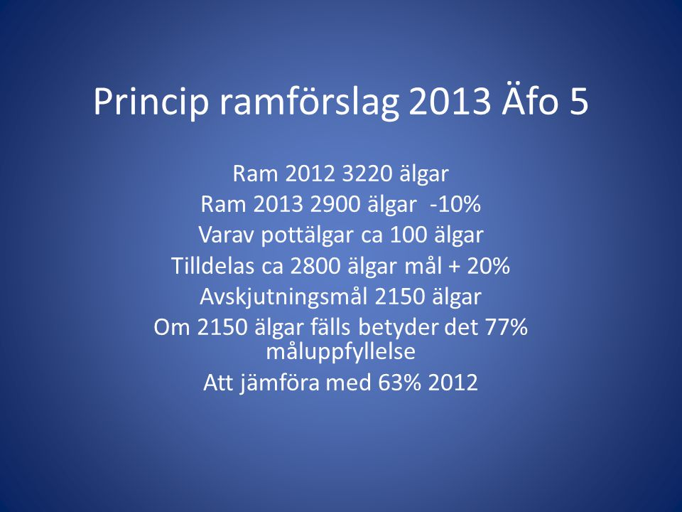 Princip ramförslag 2013 Äfo 5