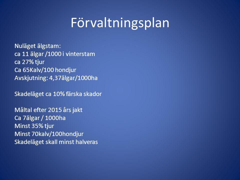 Förvaltningsplan