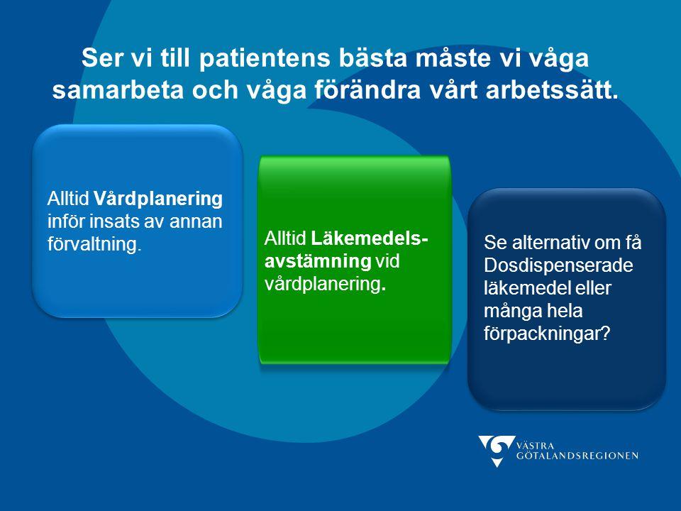 Ser vi till patientens bästa måste vi våga samarbeta och våga förändra vårt arbetssätt.