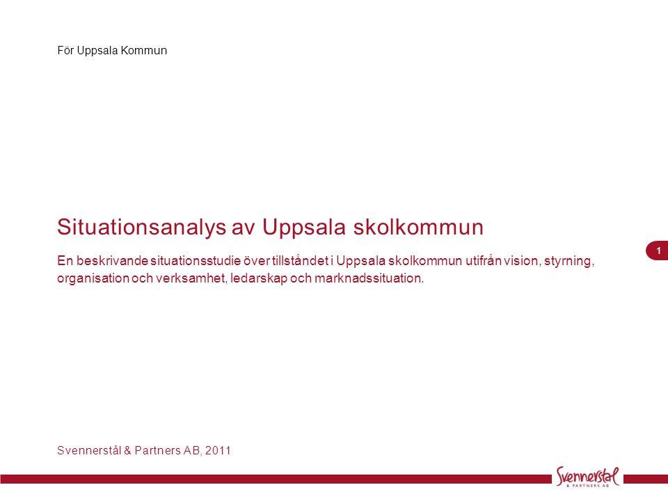 Situationsanalys av Uppsala skolkommun