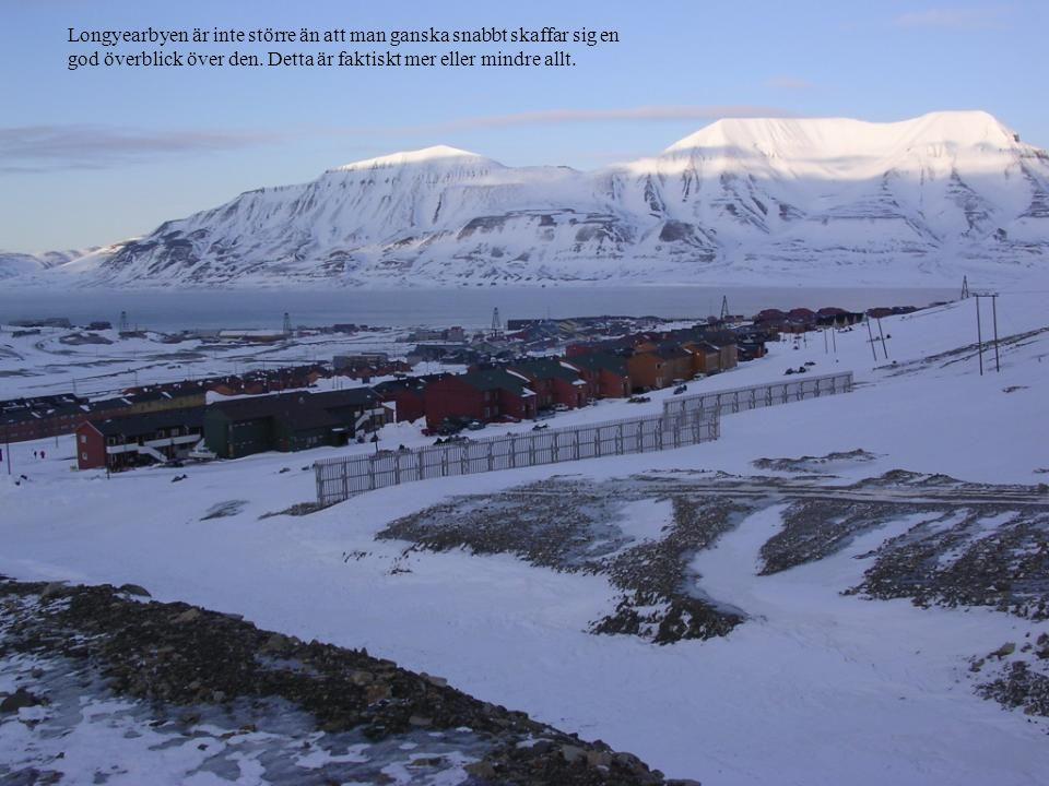 Longyearbyen är inte större än att man ganska snabbt skaffar sig en god överblick över den.