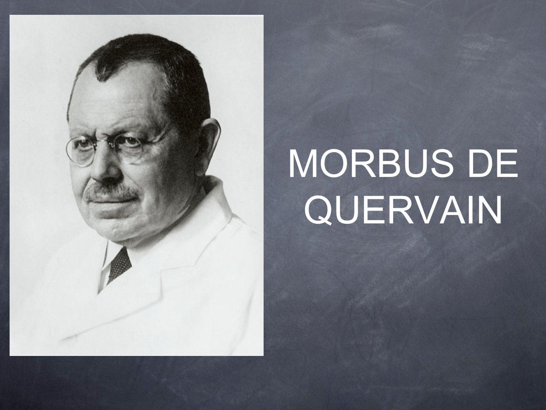 MORBUS DE QUERVAIN