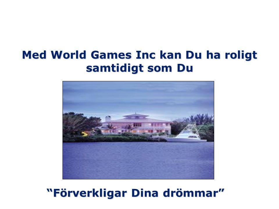 Med World Games Inc kan Du ha roligt samtidigt som Du