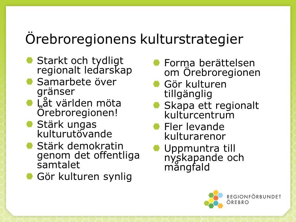 Örebroregionens kulturstrategier