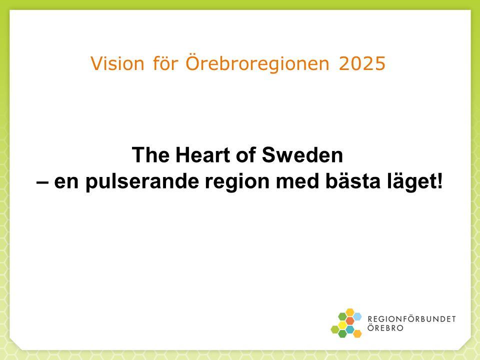 Vision för Örebroregionen 2025