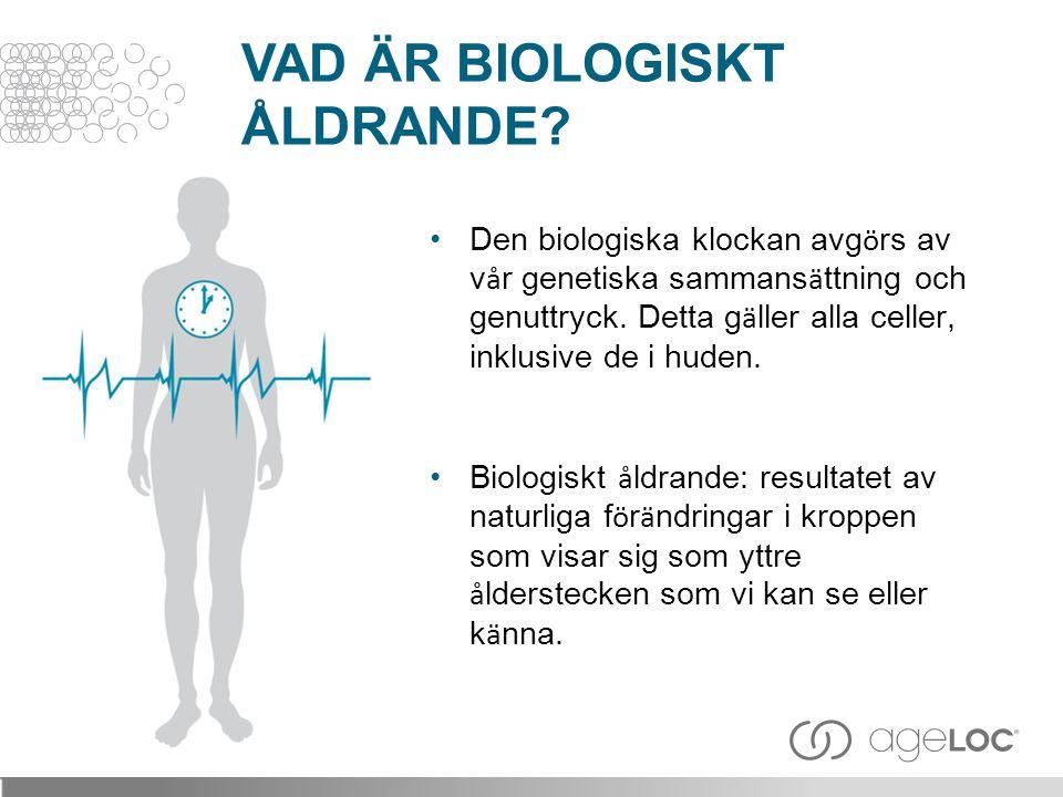 VAD ÄR BIOLOGISKT ÅLDRANDE