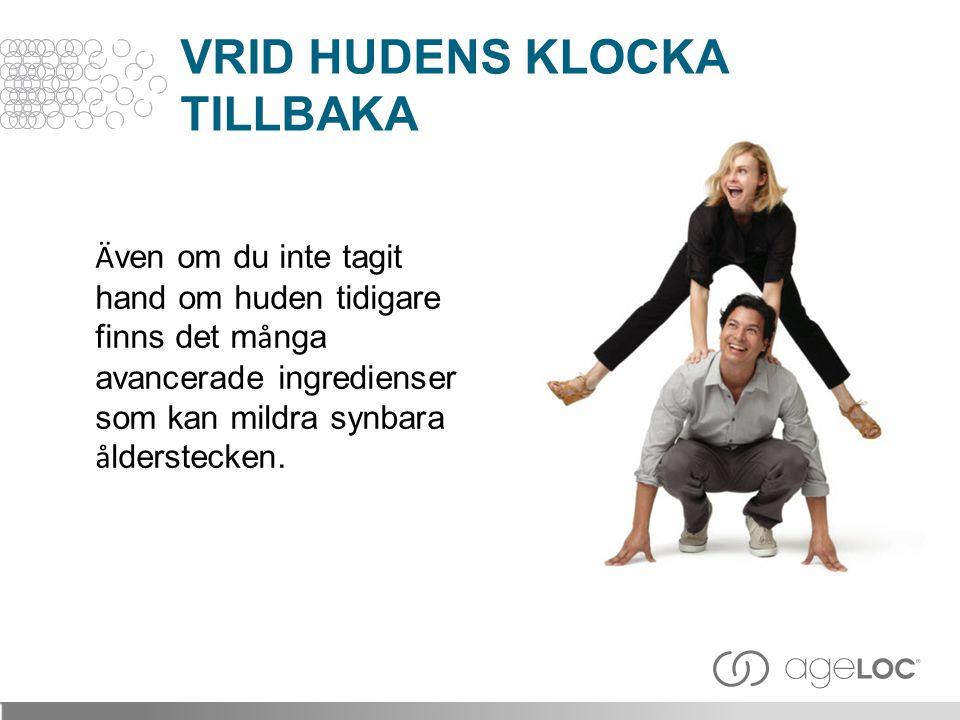 VRID HUDENS KLOCKA TILLBAKA