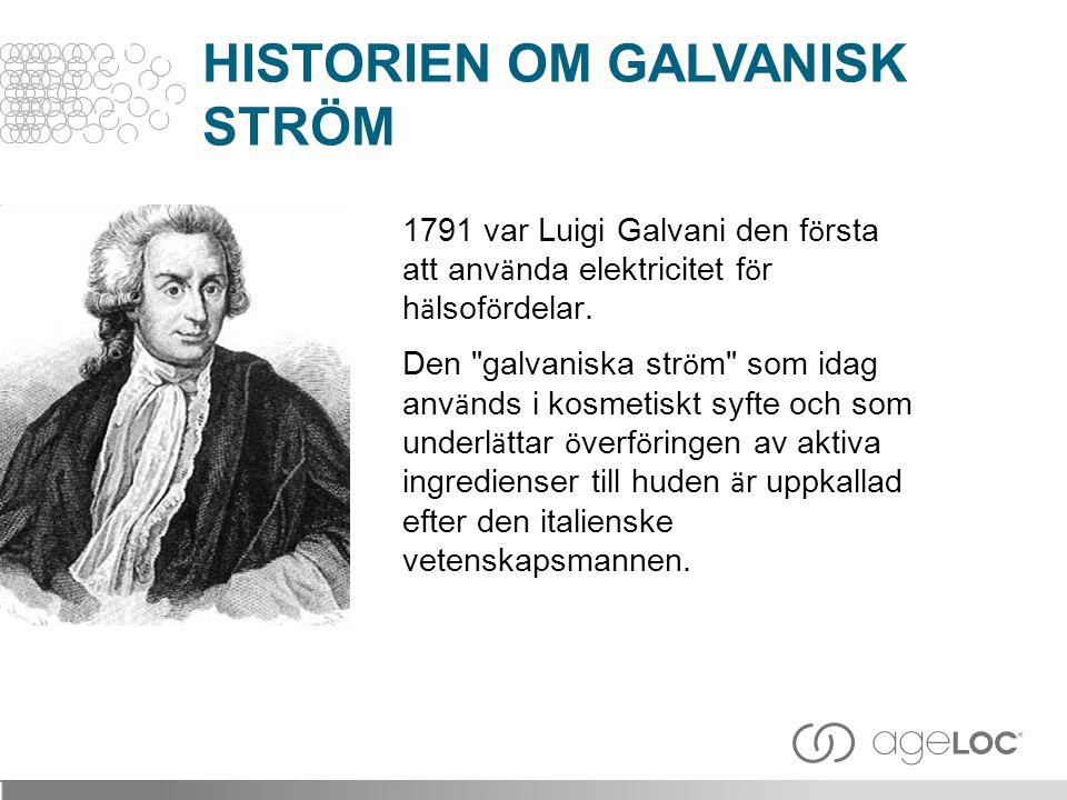 HISTORIEN OM GALVANISK STRÖM