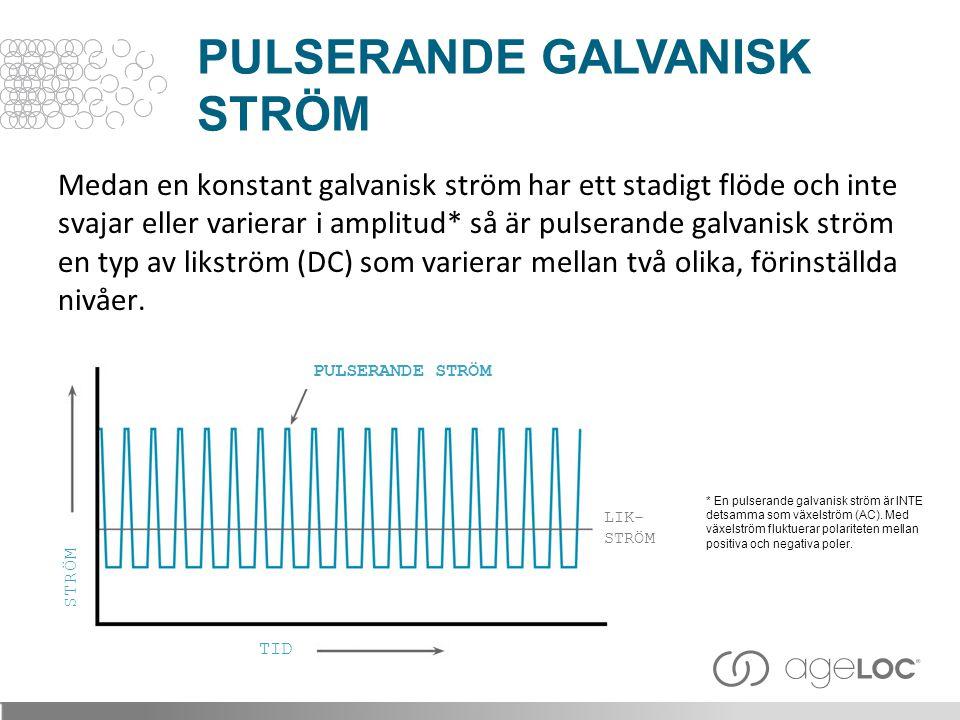PulsERANDE GALVANISK STRÖM