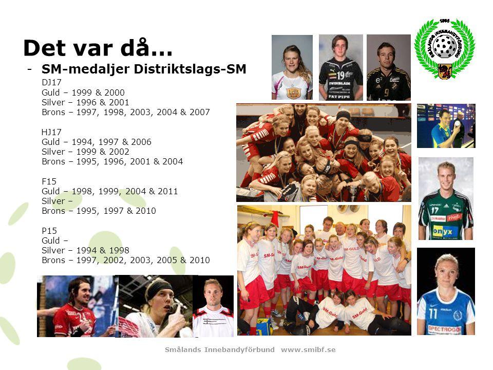 Smålands Innebandyförbund www.smibf.se