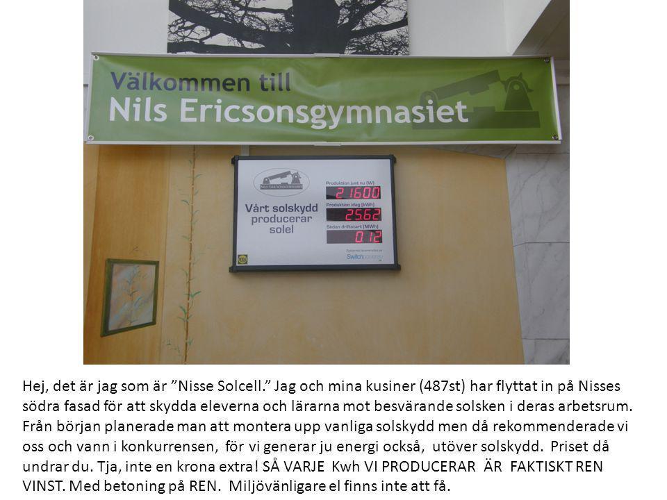 Hej, det är jag som är Nisse Solcell