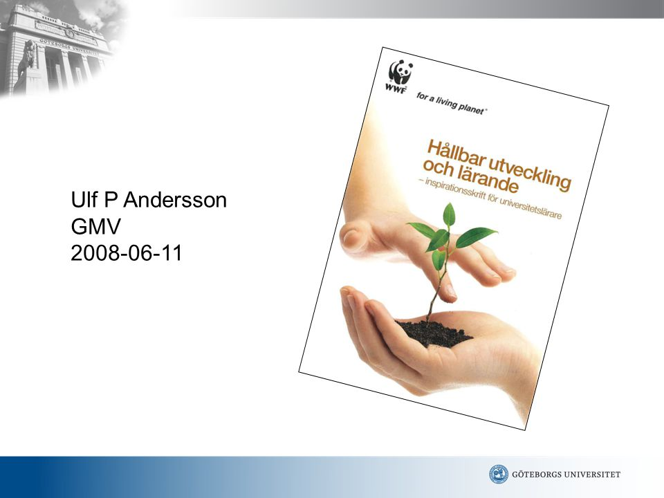 Ulf P Andersson GMV 2008-06-11