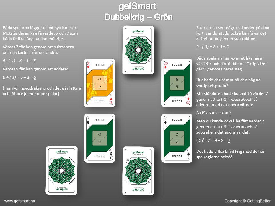 getSmart Dubbelkrig – Grön