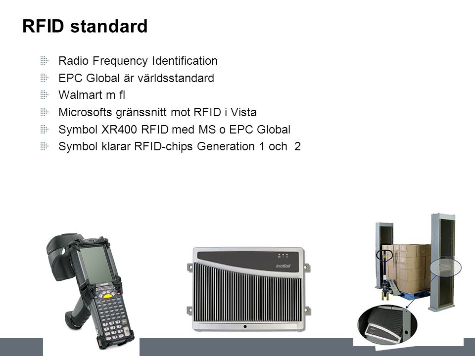 RFID standard Radio Frequency Identification