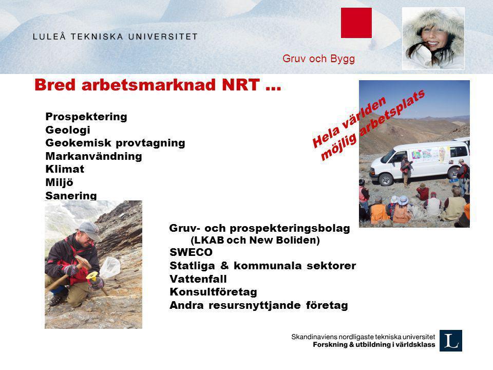 Bred arbetsmarknad NRT …