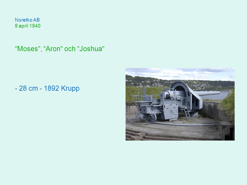 Moses , Aron och Joshua