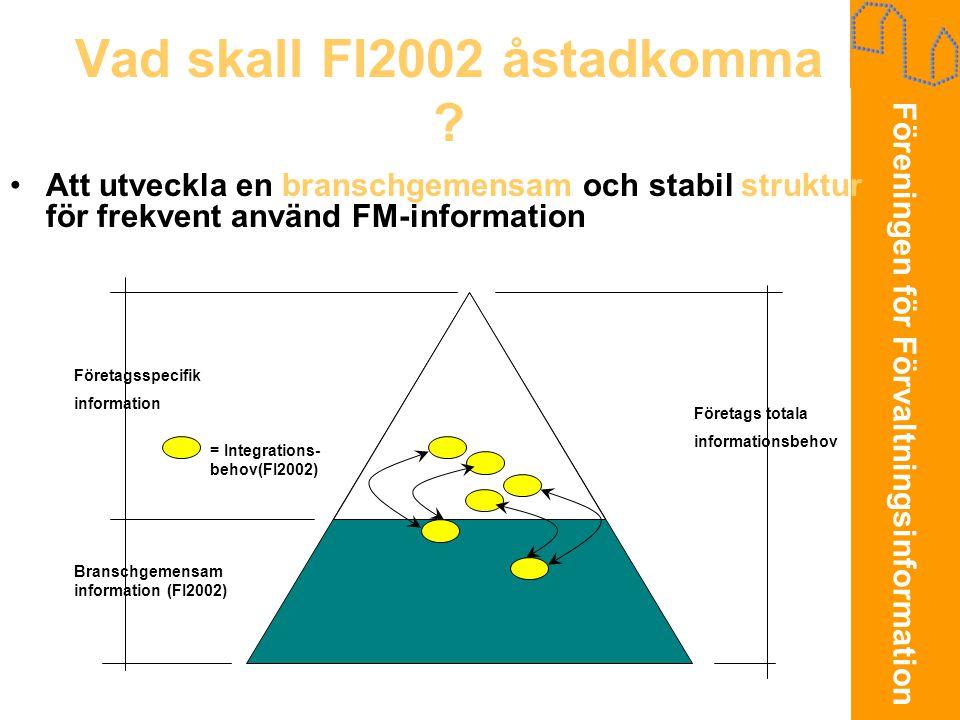 Vad skall FI2002 åstadkomma
