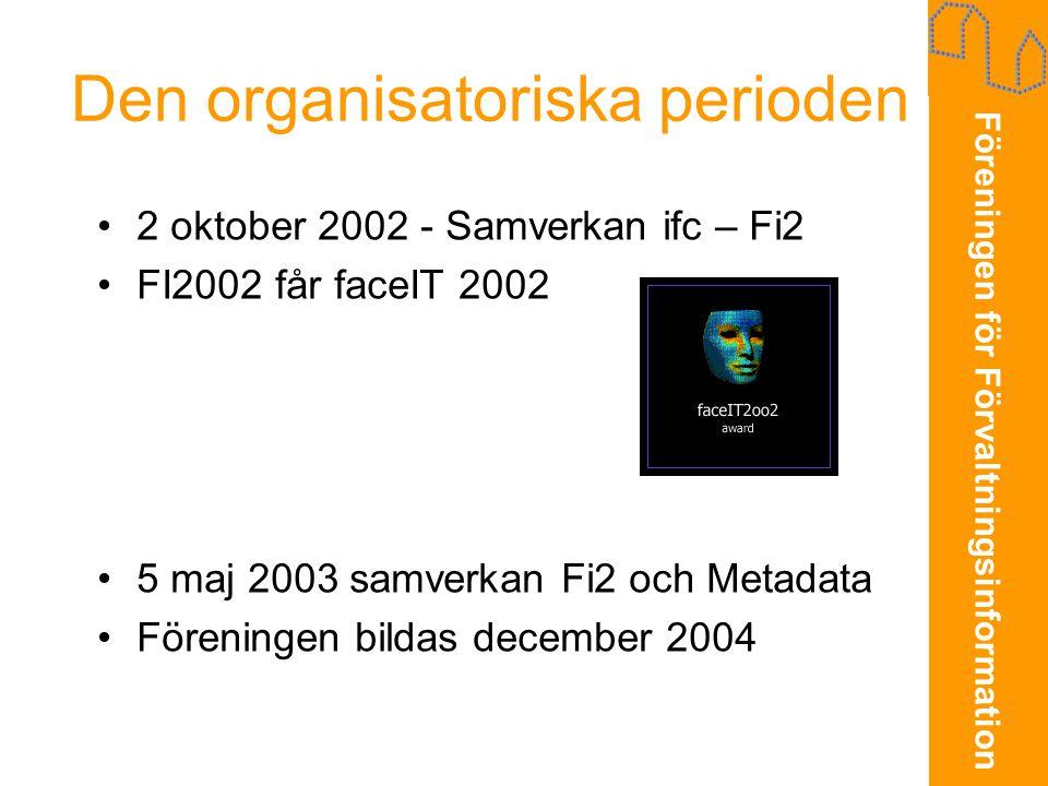 Den organisatoriska perioden