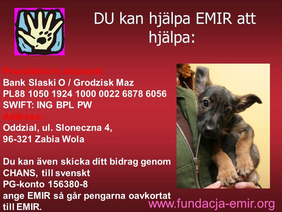 DU kan hjälpa EMIR att hjälpa: