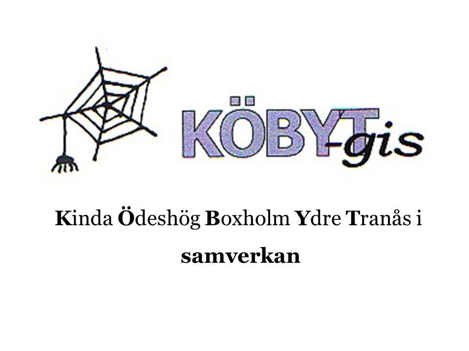 Kinda Ödeshög Boxholm Ydre Tranås i