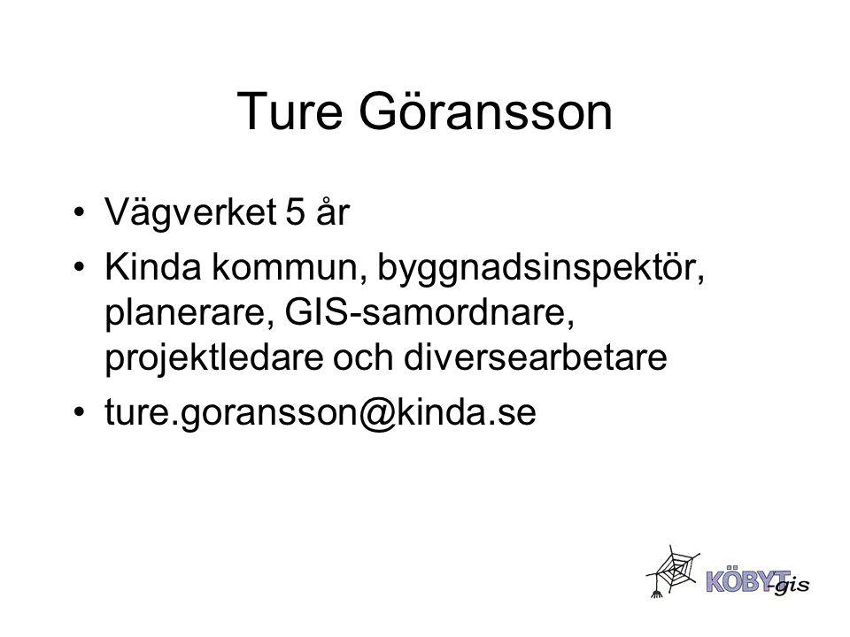 Ture Göransson Vägverket 5 år