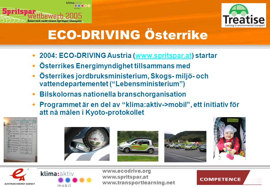 ECO-DRIVING Österrike