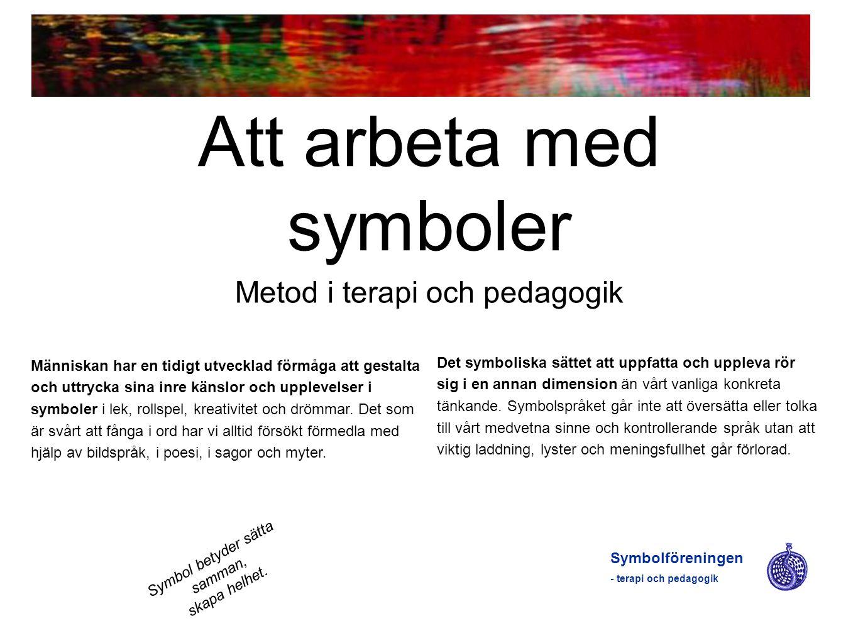 Att arbeta med symboler