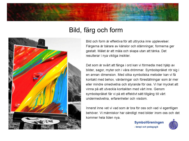 Bild, färg och form
