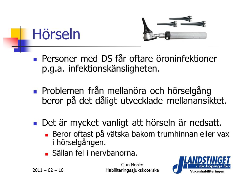 Gun Norén Habiliteringssjuksköterska