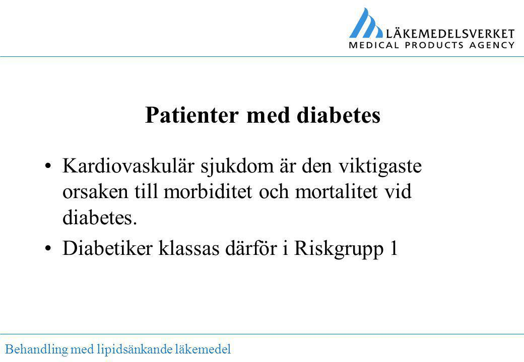 Patienter med diabetes