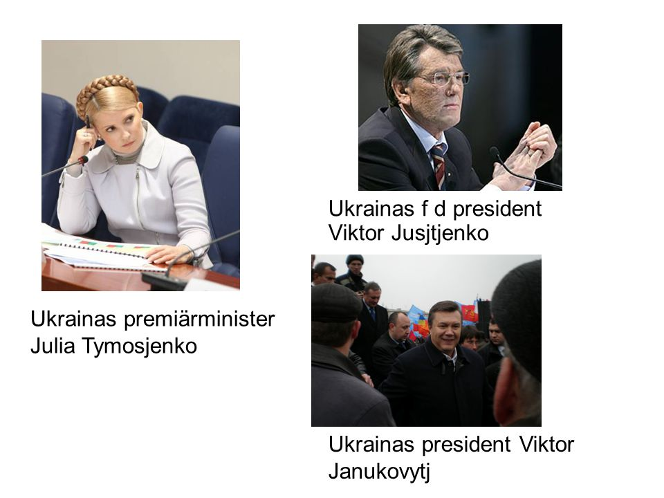 Ukrainas f d president Viktor Jusjtjenko