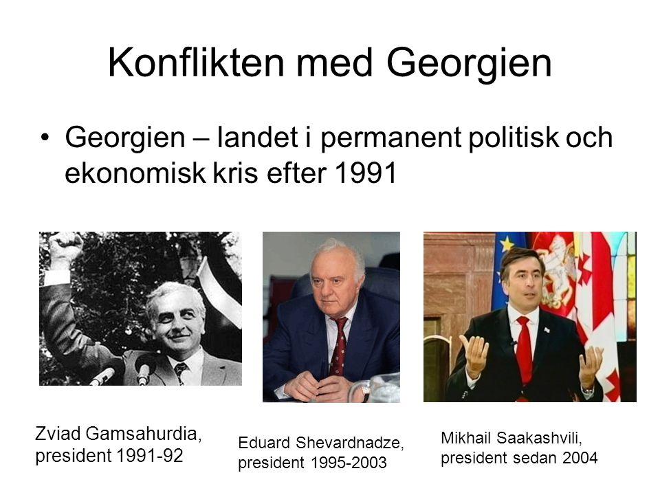 Konflikten med Georgien