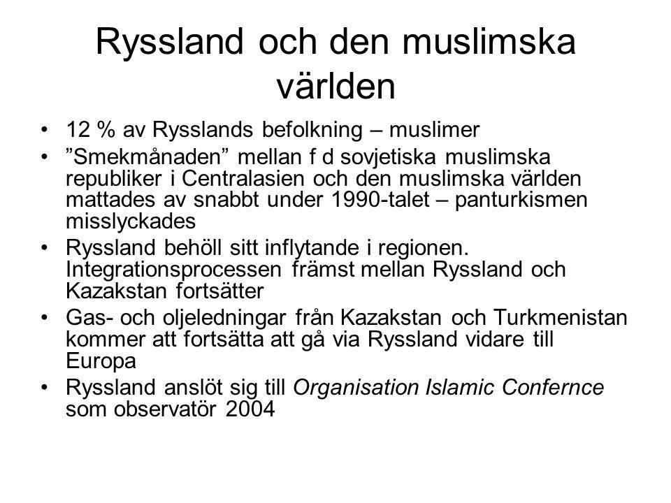 Ryssland och den muslimska världen