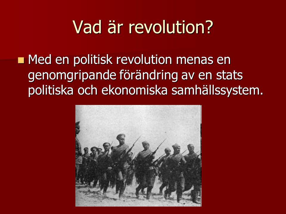 Vad är revolution.