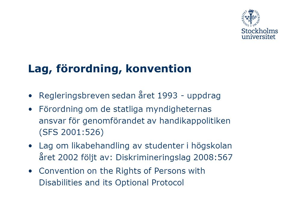 Lag, förordning, konvention