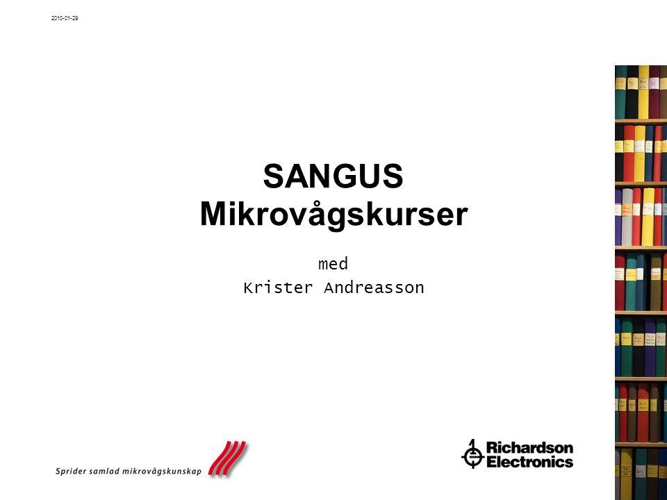 SANGUS Mikrovågskurser